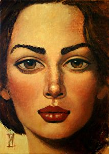 Rita by artist Mollie Erkenbrack. Found on the FASO Daily Art Show -- http://dailyartshow.faso.com