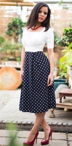 Kenzie Modest Dress by Mikarose, Vintage Dress, Church Dresses $59.99