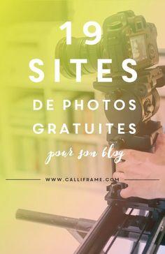 19 adresses à découvrir très vite pour améliorer le design de son blog pour partager des visuels sur les réseaux. Indispensable ! A épingler pour le garder sous la main !