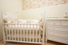 Quarto de Bebê Floral by Ateliê da Criança - Decoração de Quartos de Bebês - Guia do Bebê