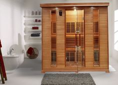 Sauna Infrarouge LUXE 5 Personnes Profitez de notre prix exceptionnel de 2919€ sur lekingstore.com Contactez nous au 01.43.75.15.90