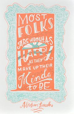 Love this...the colors, the quote, the design...