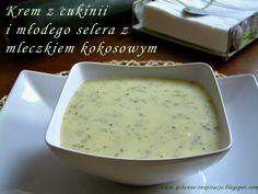 Qchenne-Inspiracje! FIT blog o zdrowym stylu życia i zdrowym odżywianiu. Kaloryczność potraw. : Wegetariański/wegański krem z cukinii i młodego se...