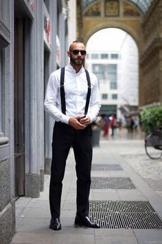 What a great style shot! #Braces fashionwear4men: Style For Men on… http://yourstyle-men.tumblr.com/post/85244536059