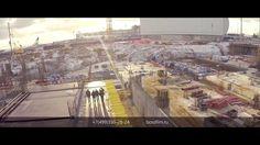 Съемка с воздуха Москва