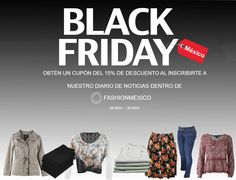 Descuento en TODA LA TIENDA, ingresa a www.fashionmexico.mx para obtener cupón de descuento y aplicarlo en tu compra. 24 Nov  -  30 Nov