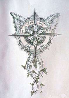 Small Tolkien dump from my phone Elbisches Tattoo, Lost Tattoo, Ring Tattoos, Body Art Tattoos, Sleeve Tattoos, Tattoo Thigh, Caduceus Tattoo, Tatoos, Underboob Tattoo