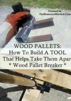 Pallet tool... OMG I need to find someone who can make two of these for me