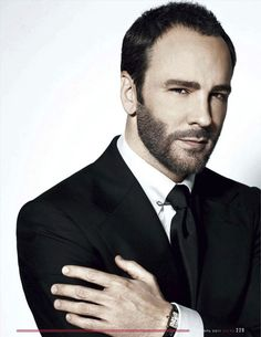 Tom Ford. The final say-so in menswear.