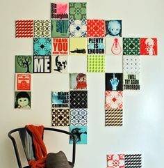 ArtTiles.  These would be easy to make.