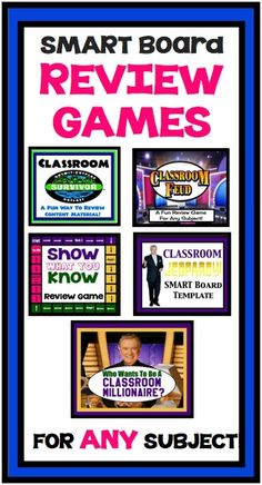 Bundle of SMART Board Games For Review