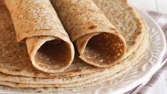 Vegan, Gluten-Free Crepes Recipe