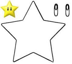 Moldes do Super Mario Super Mario Bros, Bolo Super Mario, Super Mario Birthday, Mario Birthday Party, Super Mario Party, Super Mario Brothers, Mario Y Luigi, Mario Star, Mario Crafts