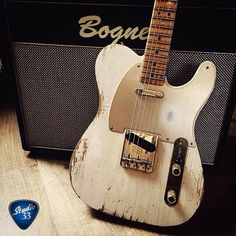 #TeleTuesday! Here's a cool relic'd Telecaster from the Fender Custom Shop (photo from @fearlessguitars) Learn to play guitar online at www.Studio33Guitar.com