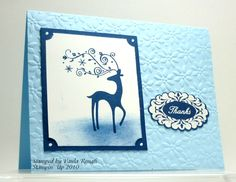 Dasher Thanks 112010class by atpaulasplace - Cards and Paper Crafts at Splitcoaststampers