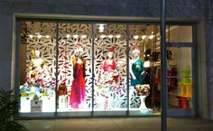 SWANK ATLANTA CHRISTMAS WINDOW FINALLY UP!!! It's always a SHOWSTOPPER!!! www.SwankAtlanta.com   Now tomorrow, I will post all the UNBELIEVABLE Clothes, handbags, and accessories we have in!!! BE PREPARED!!!!