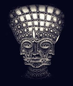 Alex Grey - from Tool's album cover - 10,000 days