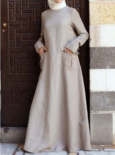 Cargo Pocketed Maxi Dress