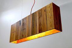 Lámparas hechas de palets                                                                                                                                                                                 Más