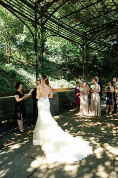 A Wedding in the Wisteria Pergola in the Conservatory Gardens – Weddings in Central Park, New York Wisteria Pergola, Pergola Garden, Pergola Shade, Wisteria Wedding, Garden Wedding, Wedding Pergola, Wedding Summer, Wedding Ceremony, Affordable Wedding Venues