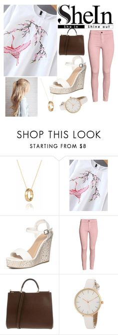 """""""Crane"""" by deanna-rice ❤ liked on Polyvore featuring Dorothy Perkins, H&M and Dolce&Gabbana"""