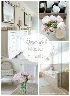 Beautiful Master Ensuite with Before Photos | So Much Better With Age