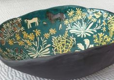 Ceramic bowl by Laura Carlin