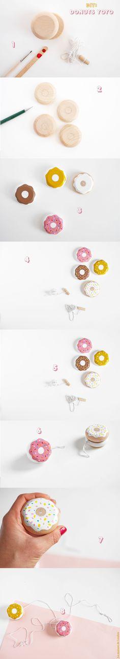 DIY Donut YoYo for the kids!