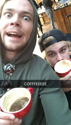I think we can tell whose had too much coffee xP
