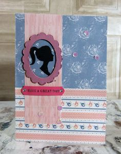 Simply Creative Shabby Chic Cameo Card by design team member Katie