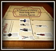 Students in your classroom will enjoy learning as they use this tool to create a chronological history timeline.