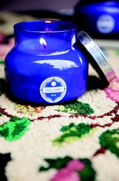 Capri Blue Volcano Candle, one of my very favorite scented candles.