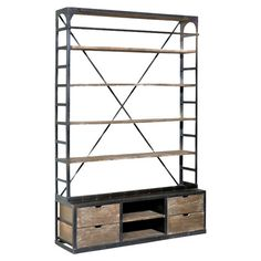 Brayden Home Lawrence Bookcase