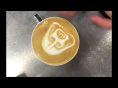 Latte Art - Darth Vader - how to