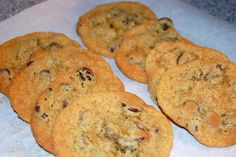 Gluten Free Chickpea Flour Chocolate Chip Cookies