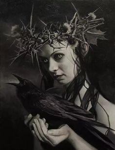 As sombrias pinturas de terror e fantasia de David Stoupakis