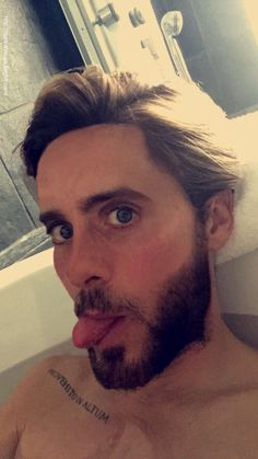 Can I be in the bath with him?? Possibly?? Yes god plz