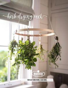 Easy DIY Herb-Drying Rack!   P. Allen Smith