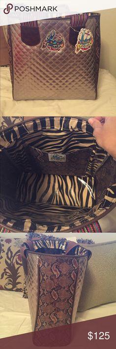 Authentic Consuela large tote/bag BNWTBeautiful bag!! Reg $175 Consuela Bags Totes