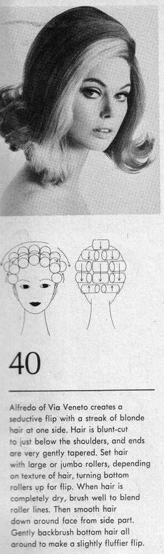 Vintage Hairstyles Hair Setting - An absolutely gorgeous class flip! Pin Up Hair, Big Hair, Short Hair, Vintage Hairstyles Tutorial, Beach Wave Hair, Beach Waves, Hair Fixing, 1950s Hairstyles, Hair Setting