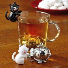 Infusori da tè - Infustore con gatto