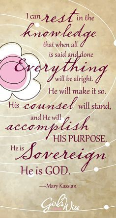 god is sovereign verses - Google Search