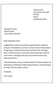 Sample Termination Letter Format Business Case Examples