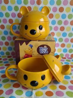 "Mug Karakter ""Winnie The Pooh Series"" Watercolor Dandelion Tattoo, Winne The Pooh, Pooh Bear, Spirit Animal, Wattpad, Pottery, Mugs, Disney, Kitchen"