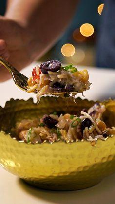 Incremente a sua ceia de natal com essa refrescante e saborosa salada crocante de bacalhau.