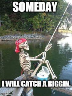 This goes for me both hunting and fishing, but I still keep at it for that one day...