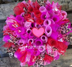 Check out all the new Valentine's Day designs from Wreaths to Adoor