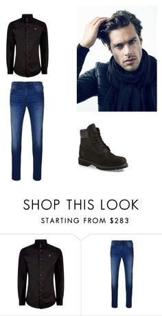 """""""bro"""" by matty1167 on Polyvore featuring Vivienne Westwood, True Religion, Timberland, men's fashion and menswear"""