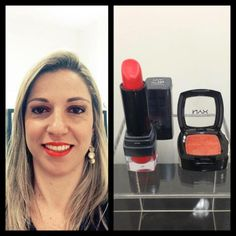 Black Label Lipstick Citrine no Beauty Team da NYX Vitória