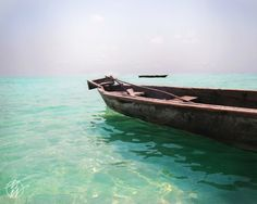 Hang this on your wall! #zen #mint #photography Zanzibar photos Africa Dhow Tanzania Ocean Boat by whywanderlust